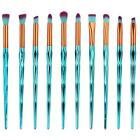 Complete Eyeliner Eye Shadow Brow Lip Foundation Makeup Brushes Set for Women