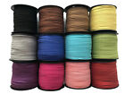 Faux Suede Cord with Glitter, String, Thong 3mm x 1.5mm