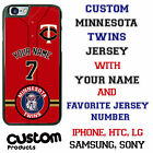 Minnesota Twins Baseball Jersey Phone Case personalized for Samsung etc