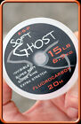 ESP Soft Ghost 100% Fluorocarbon hooklength 20 metres spool
