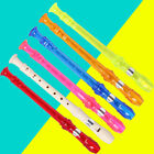 Soprano Descant Recorder 8-hole Music Instrument With Cleaning Rod Kids Children