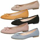 WOMENS SHOES LADIES FLATS PUMPS SLIP ON CASUAL BALLERINAS SOFT COMFORT STYLE NEW