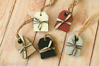 East of India strung Luggage Tags 6pc shabby chic DIY gift tag shop price ticket
