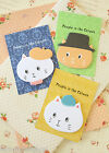 Cat Sticky Notes cute cartoon Catown kitty faces kawaii diary message memo pads