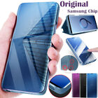 Original Samsung Chip Galaxy S9 Plus S8 Note8 S-View Smart Flip Stand Case Cover