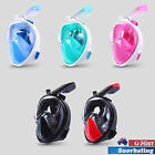 Full Face Snorkelling Snorkel Mask Diving Goggles Breath For GoPro Swimming AU