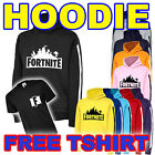 FORTNITE STRIPE Kids/youth hoodie & **FREE TSHIRT** - Fortnight Hoody