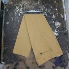 New Prada Smart Trousers in Golden Brown With Hanger Size 52 BNWT RRP £195