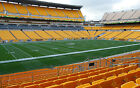 (4) Steelers vs Panthers Pre-Season Tickets Sidelines Lower Level Section 107!!