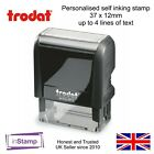 PERSONALISED BESPOKE SELF INK RUBBER STAMP NAME AND PHONE NUMBER HOME ADDRESS