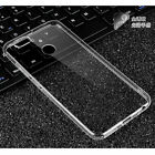 Full Shockproof Crystal Clear Transparent Soft Back Case Cover for Oppo F7