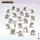 BITS SKAVEN PLAGUE MONKS CLAN PESTILENS CHAOS WARHAMMER AGE OF SIGMAR