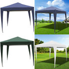 3mx3m Steel Frame Pop Up Canopy Gazebo Folding Tent Instant Shelter Event Party