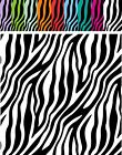 "ZEBRA 6"" x 6""  ORACAL Adhesive Permanent *CHOOSE COLOR* Vinyl Digitally Printed"