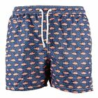 MC2 Saint Barth Costumi Uomo Mod. Seventy Swim Short Clown Fish Fluo