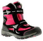 Girls Double Strap Cordura And Synthetic Upper Snow Boots With Mount K