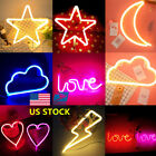 Neon LED Wall Lamp Novelty Sign Pub Lighting Gift Bedroom Ni