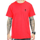 Sullen Art Collective Clothing T-Shirt - Standard Issue Rot Tattoo Skull Schädel
