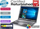 """Dell D620 1.66GHz 14"""" CORE DUO 4GB Ram UP TO 1TB HDD WINDOWS 10,  ANTIVIRUS"""