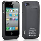 iPHONE 4 4S 4G POWER BANK PORTABLE BATTERY CHARGER CASE EXTERNAL BACKUP PACK