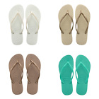 Havaianas Slim Rubber Thong Flip Flop Sandals Slippers NEW  MSRP 26