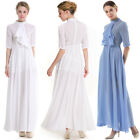Women Summer Solid Boho Maxi Long Evening Party Cocktail Lady Beach Dress O7809