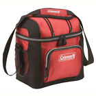 Soft Cooler Box Hard Liner Coleman 9 Can Work Lunch Box Food Storage Camping Bag