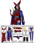 League of Legends Female Xayah Cosplay Costume+Ears+Bird feet covers