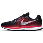 Nike Air Zoom Pegasus 34 Men Shoes 880555 006 Black Metallic Silver Size 14