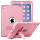 Shockproof Hybrid Rugged Stand Bumper Case Cover For Apple iPad 9.7 2017 5th Gen