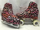 Tiny Floral Boot Covers for RollerSkates and Ice Skates  Small, Large