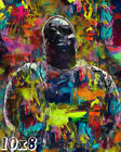 Biggie Smalls Abstract Painting Poster or Art Print