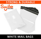 White All Sizes 50mu Mailing Bags Postal Postage Mail Strong Self Seal XL Large