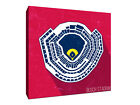 St Louis Cardinals - Busch Stadium - Seating Map - Gallery Wrapped Canvas on Ebay