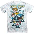 New Authentic Star Trek QUOGS crew cast Allover Front T-shirt S M L X 2X 3X top on eBay