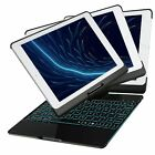 iPad 9.7'' Bluetooth Keyboard Case with Aluminium Alloy Type Backlit Keyboard