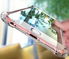Hybrid Shockproof Clear Tpu Hard Bumper Cover For I Phone X 6 6s 7 8 Plus Case