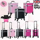 Beauty Technician Make up Vanity Case Hairdressing Cosmetics Box Trolley Nail