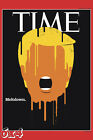 Donald Trump 'Meltdown' Time Magazine Issue Cover Poster or Art Print