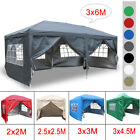 Outdoor Pop Up Gazebo Marquee Garden Party Tent With Carry Bag & 4 Leg Weights