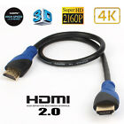 18Gbps 28AWG HDMI 2.0 CABLE 4K 2160P Samsung LG Sony TV 10ft 2/3/5/10Pc Lot