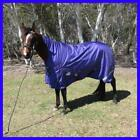 Love My Horse 5'0 - 6'3 1680D 180g Fill High Neck Stable Shower Proof WUG Purple