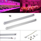 T8 Full Spectrum Led Grow Tube Light 120cm 60/90cm Hydroponic Plant Pink PC 2835