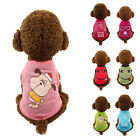 Pet Dog Boy Girl Clothes Small Pet Puppy Clothing T Shirt Vest Summer XS S M L