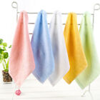 New Bamboo Fiber Soft Hand Face Towels Wash Cleaning Cloth Bathroom Kitchen 1PC