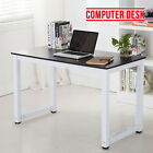 PC Computer Desk Study Writing Table Home Office Workstation Wooden & Metal