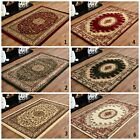 MEDIUM LARGE RUG TRADITIONAL Oriental BEIGE, GREEN, RED 120x170cm DISCOUNT RUG