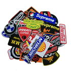 wholesale lots Punk Racing random Car brand motoGP Iron Sew on Embroidered Patch