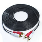 Kyпить Short/Long 2 RCA- 2 RCA Phono Stereo Audio Cable Cord Male to Male- TV CD MP3 US на еВаy.соm