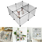 Multi-use Open Cabinet Pet Playpen Small Dog Metal Crate Fence Shoe Storage Rack